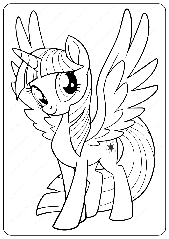 coloring pages twilight sparkle my little pony twilight sparkle coloring page with images coloring sparkle twilight pages
