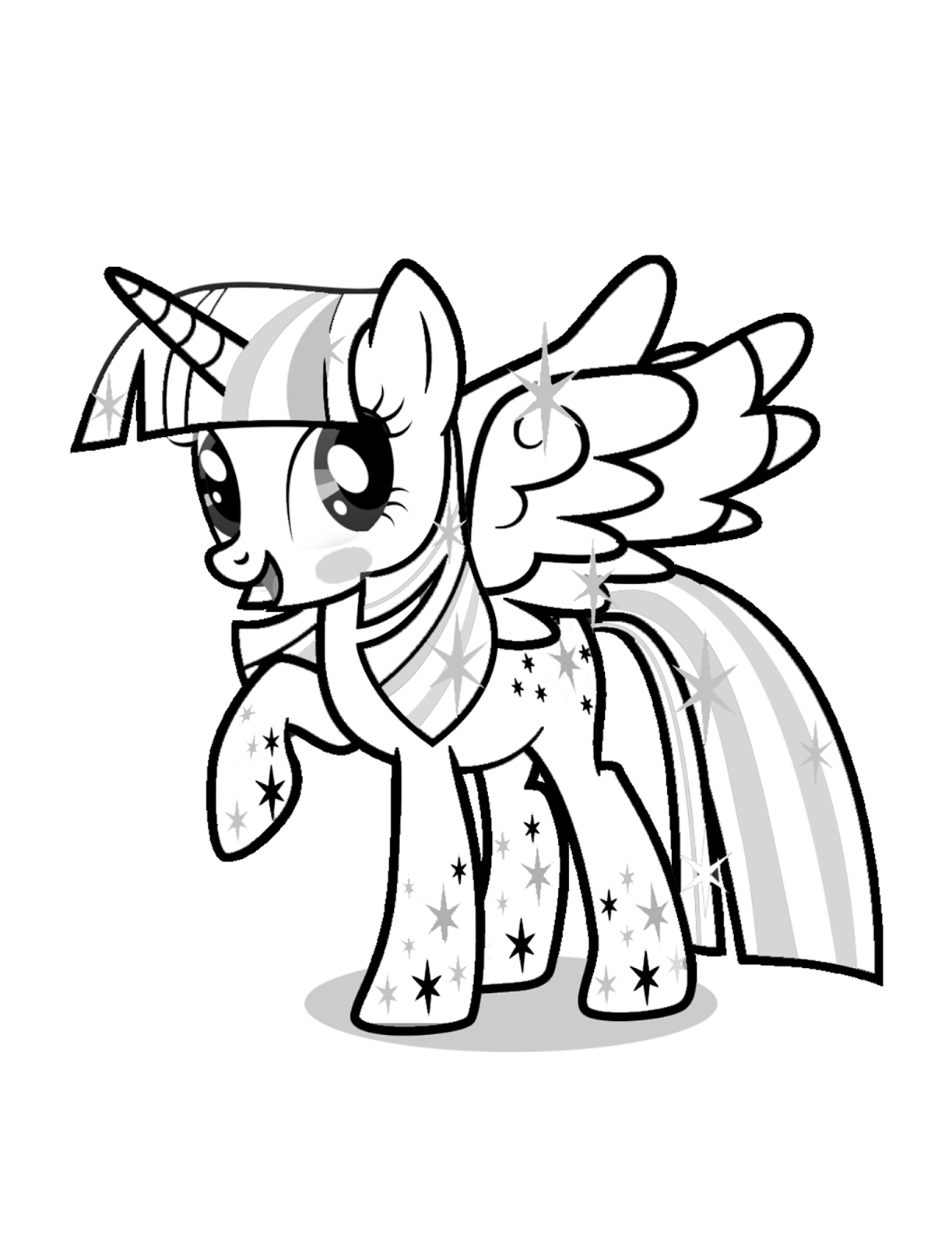 coloring pages twilight sparkle twilight sparkle drawing at paintingvalleycom explore sparkle coloring pages twilight