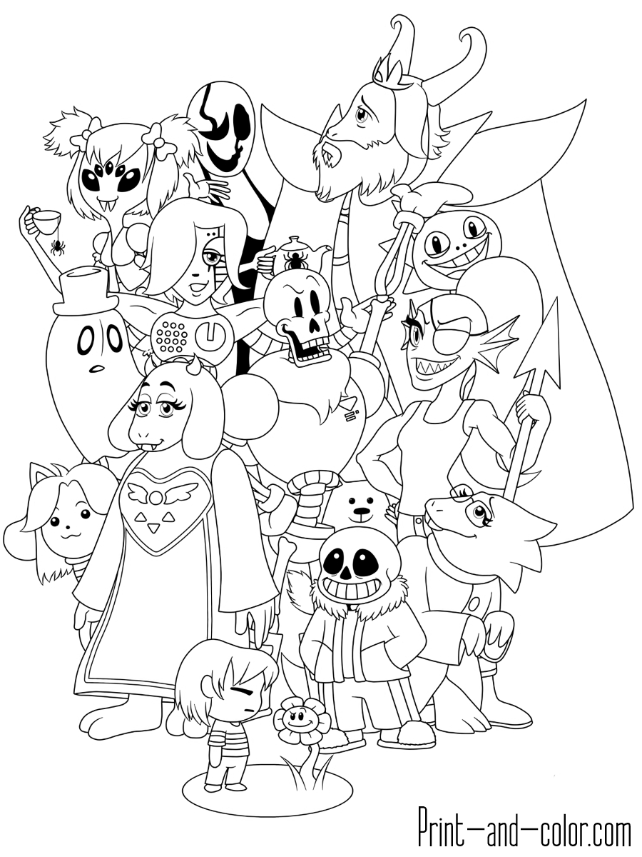 coloring pages undertale top 20 printable undertale coloring pages online undertale pages coloring