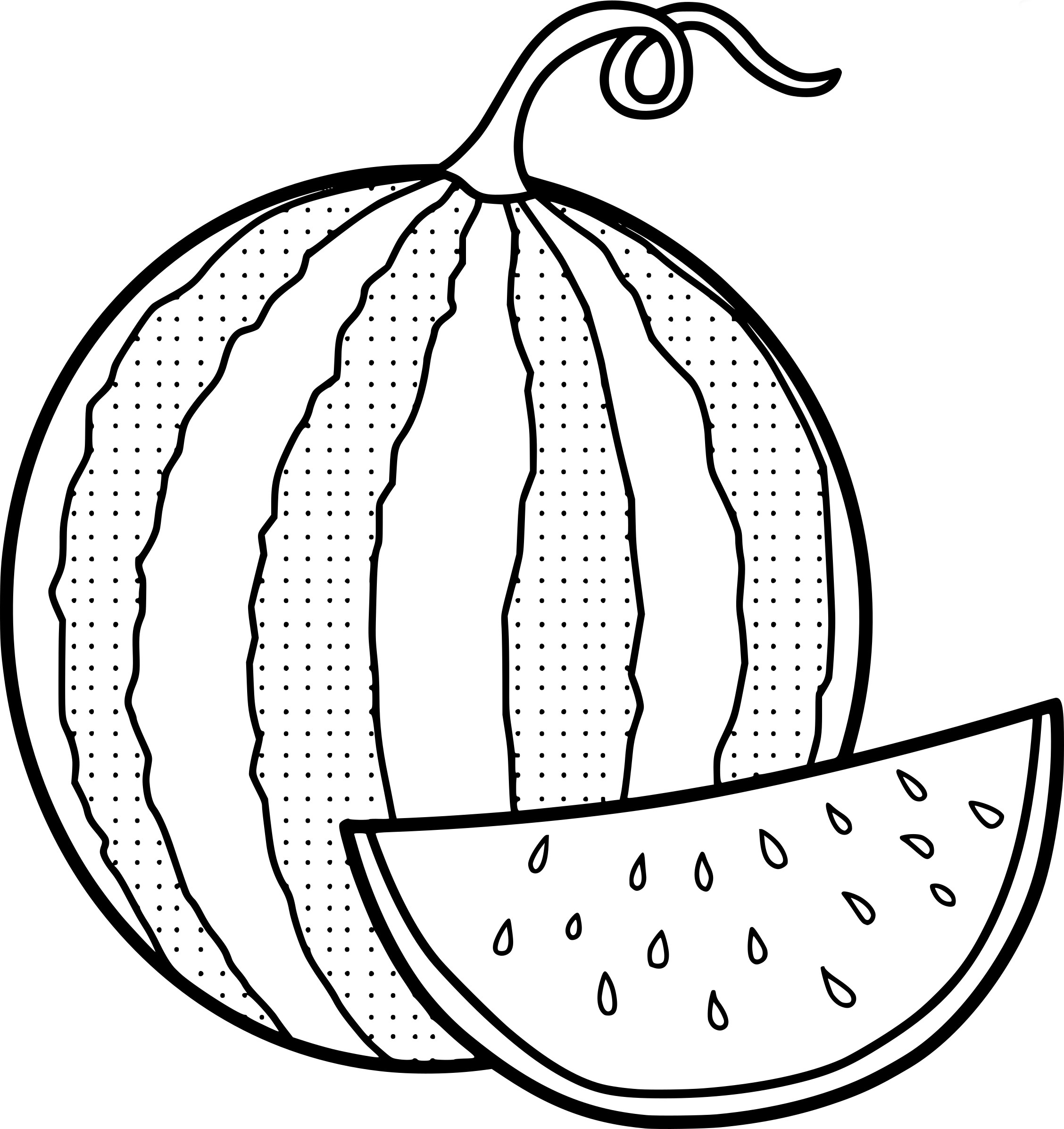 coloring pages watermelon cute watermelon coloring pages vingel pages coloring watermelon
