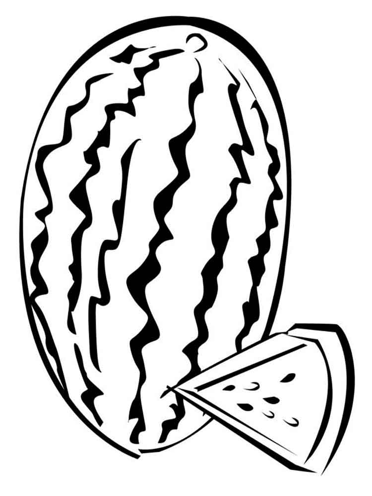coloring pages watermelon sweet watermelon coloring page mitraland pages watermelon coloring