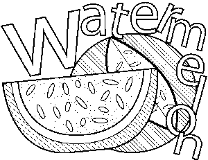 coloring pages watermelon watermelon coloring page coloring pages watermelon