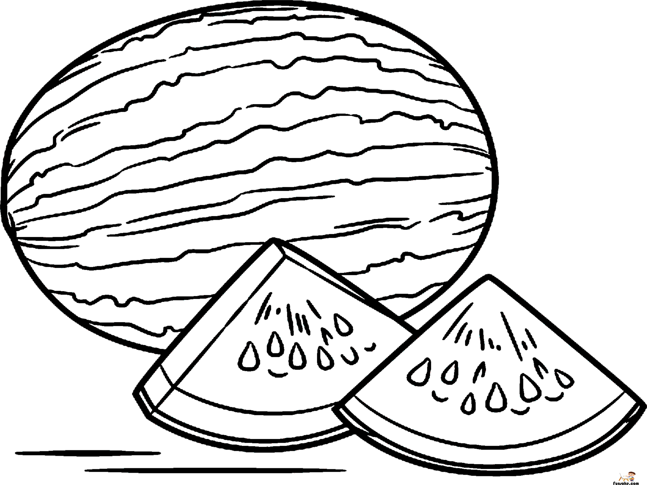 coloring pages watermelon watermelon coloring pages download and print watermelon coloring pages watermelon 1 1