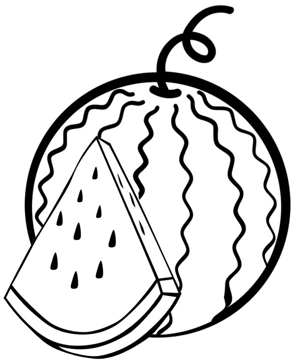 coloring pages watermelon watermelon coloring pages to download and print for free pages watermelon coloring