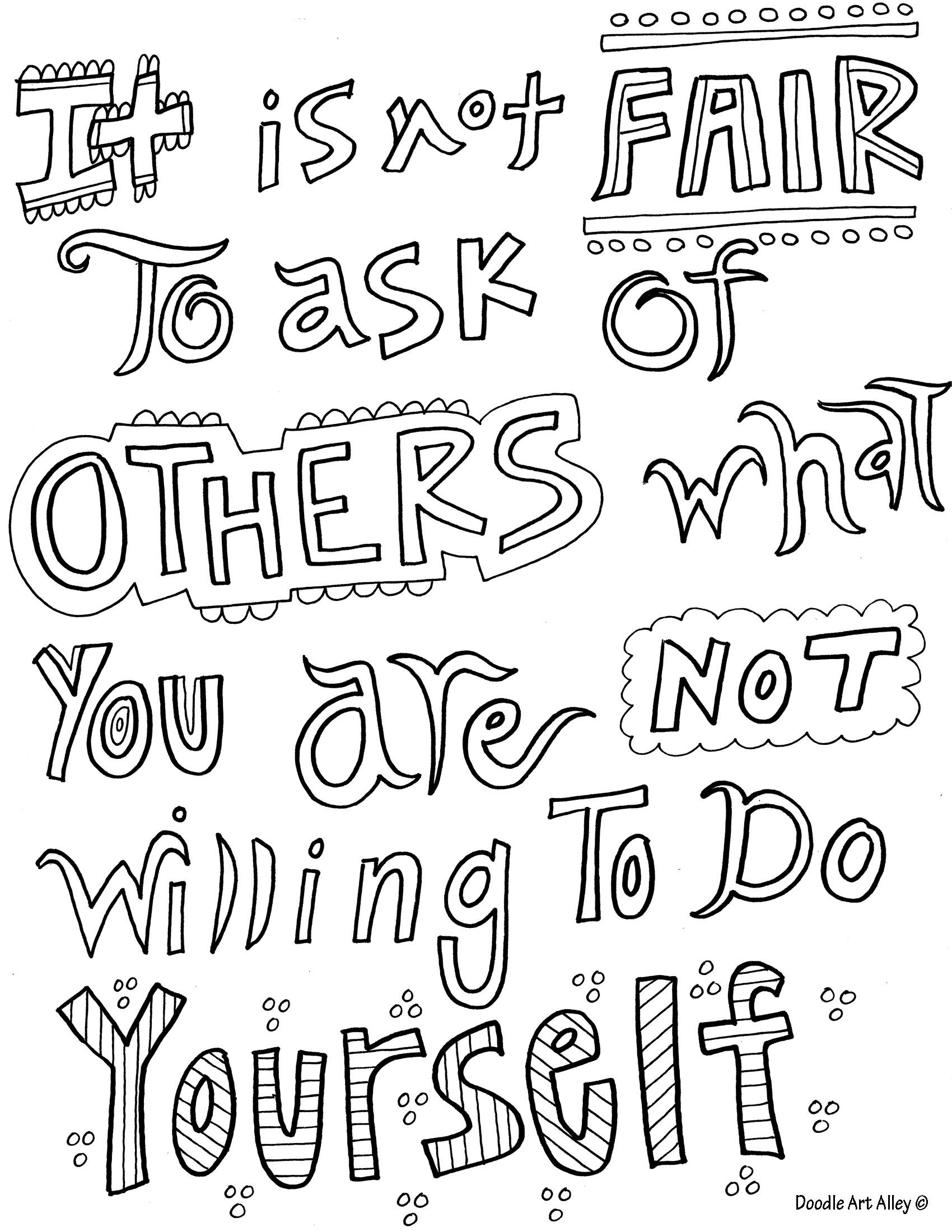 coloring pages with quotes family quote coloring pages doodle art alley coloring quotes with pages