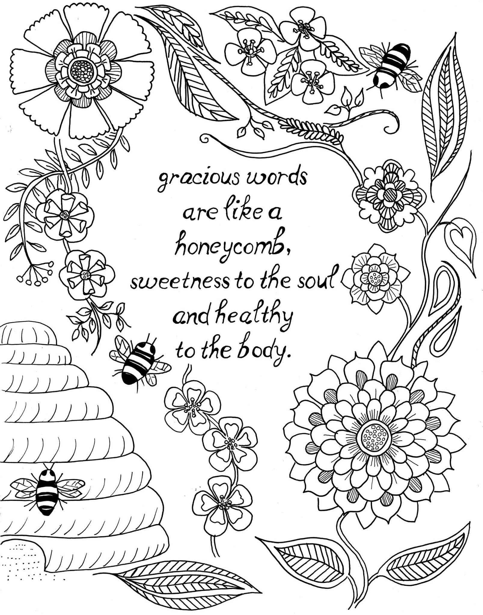 coloring pages with quotes quote coloring pages for adults and teens best coloring quotes coloring with pages
