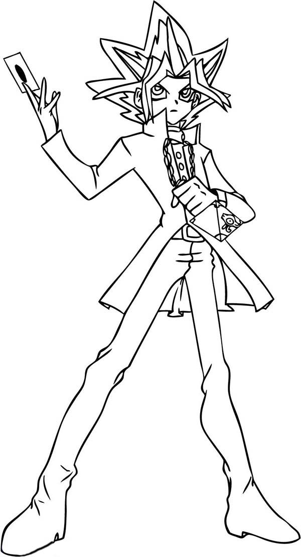 coloring pages yugioh yu gi oh 5ds coloring pages learny kids yugioh coloring pages