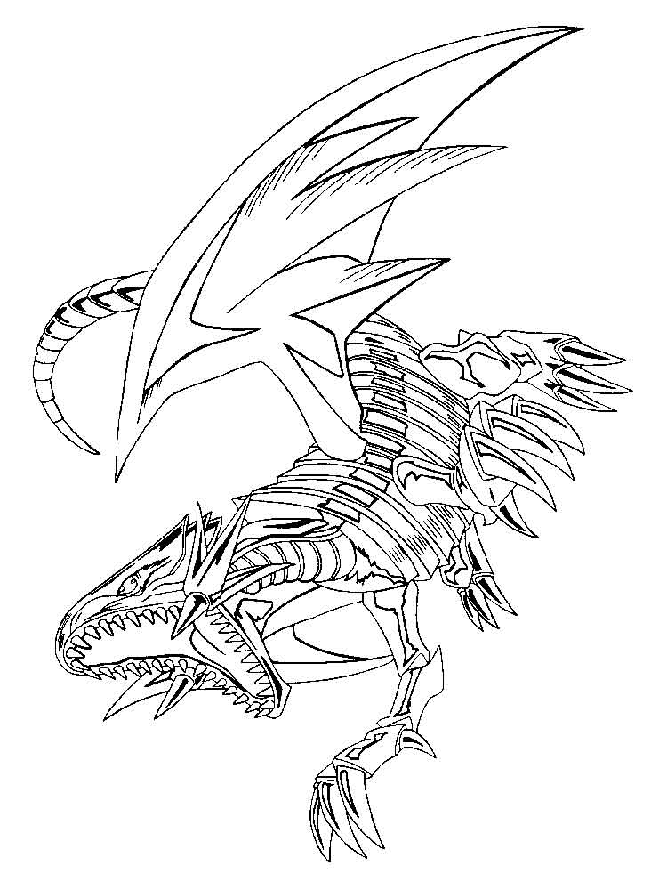 coloring pages yugioh yugioh dragon coloring pages at getdrawings free download coloring yugioh pages
