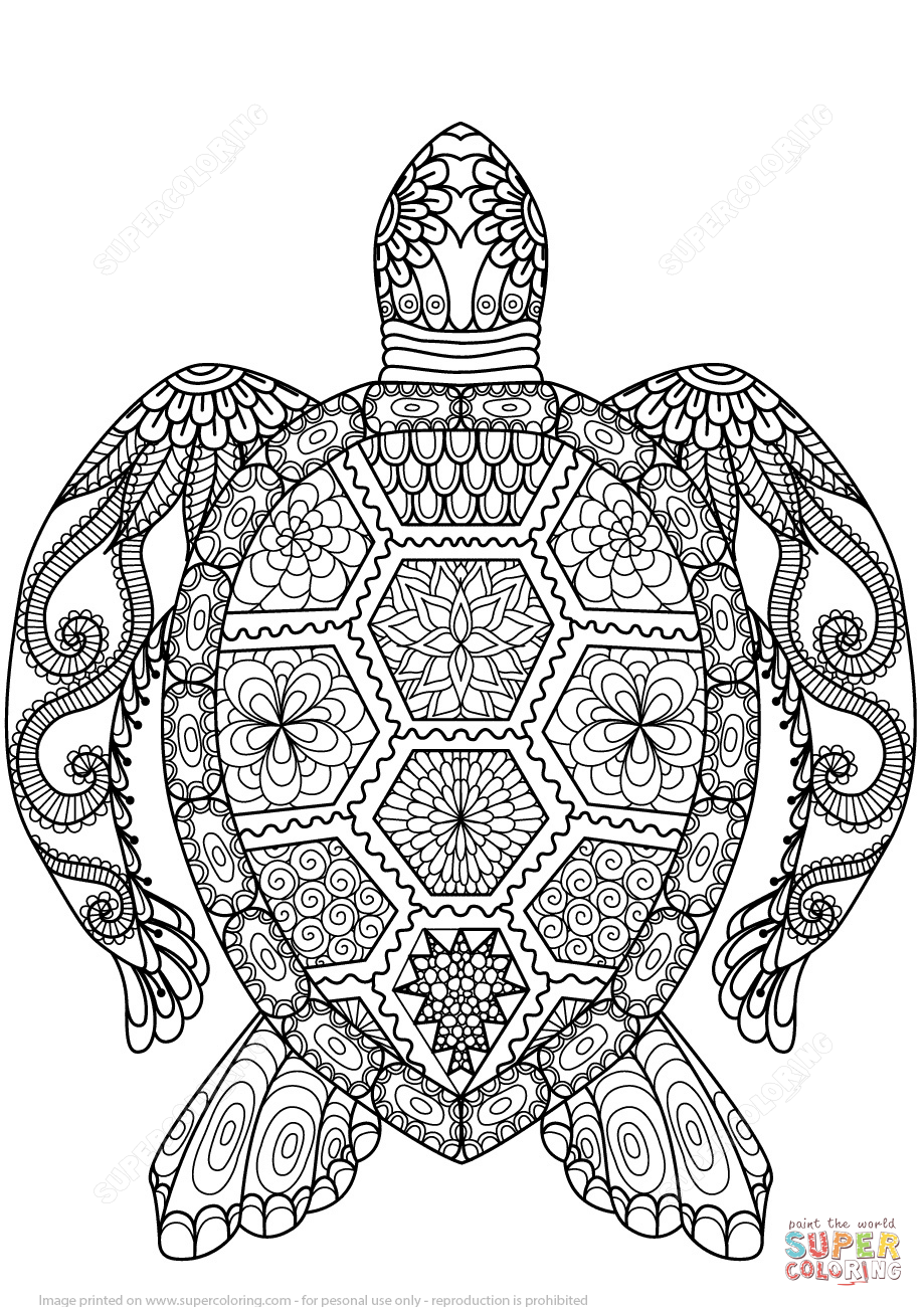 coloring pages zentangle turtle zentangle coloring page free printable coloring pages coloring zentangle pages