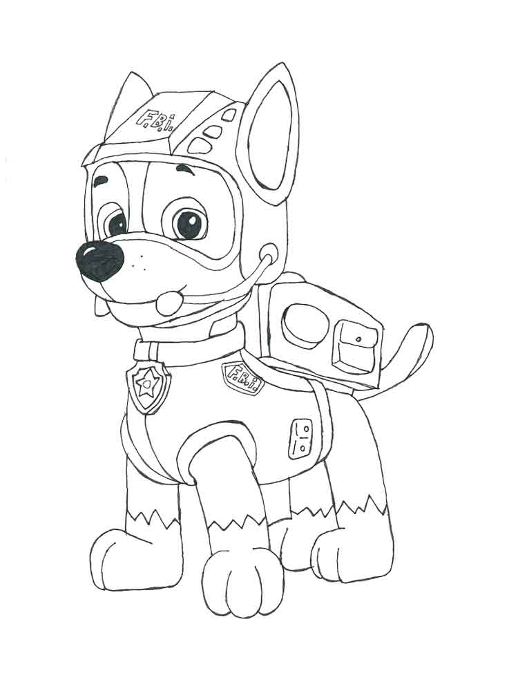 coloring paw patrol chase chase from paw patrol free colouring pages chase paw patrol coloring