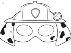 coloring paw patrol masks pin by vicki price on paw patrol in 2020 paw patrol masks paw patrol coloring