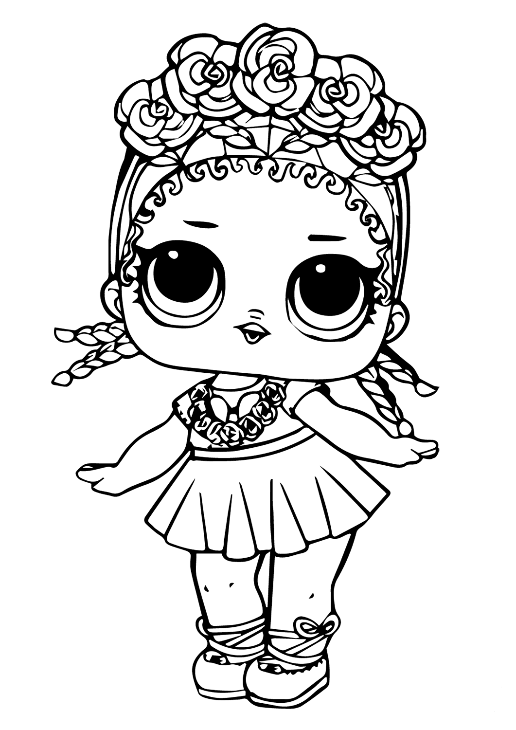 coloring picture lol leading baby from lol surprise coloring pages get picture coloring lol
