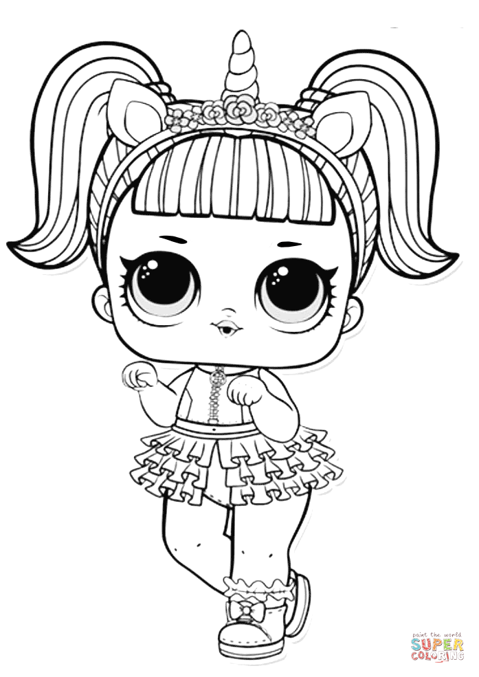 coloring picture lol little lids siobhan lol doll colouring pages lol coloring picture