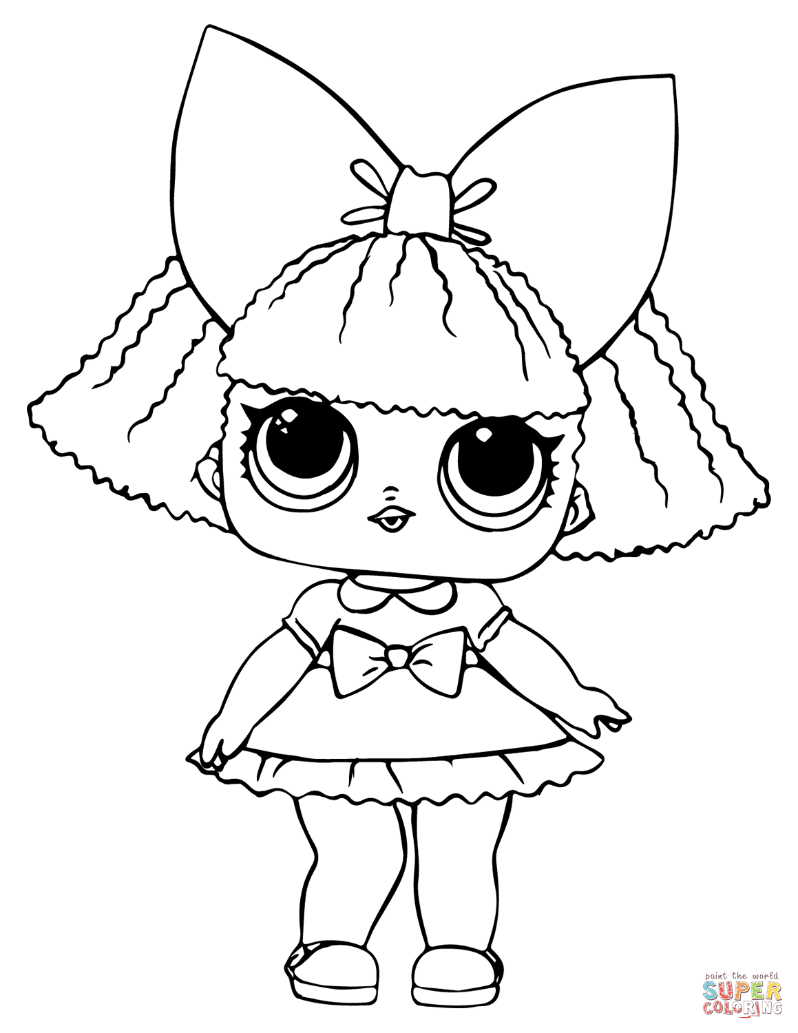 coloring picture lol lol doll luxe coloring page free printable coloring pages lol coloring picture