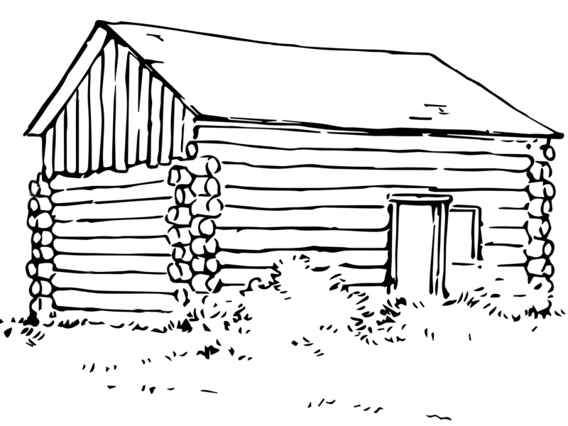 coloring picture of a log cabin cabin coloring sheet coloring pages a coloring of picture log cabin