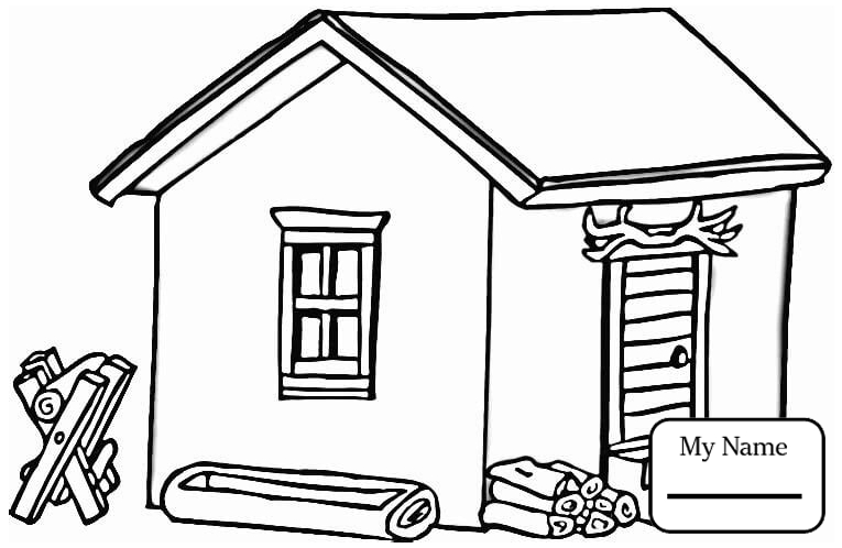 coloring picture of a log cabin log cabin coloring page free printable coloring pages cabin a picture log coloring of