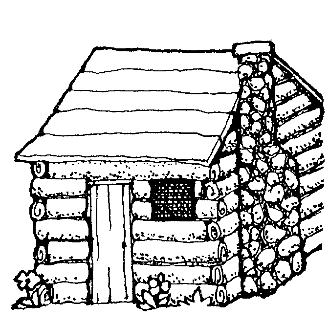 coloring picture of a log cabin log cabin coloring pages coloring home log cabin picture a coloring of