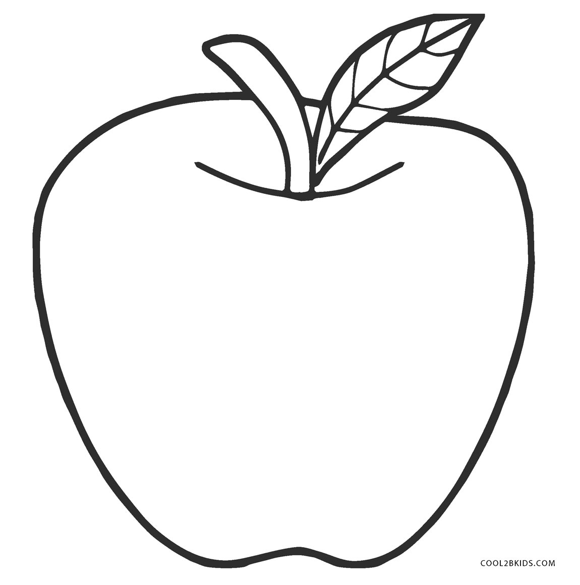 coloring picture of an apple 7 best printable apple template preschool printableecom of picture coloring apple an
