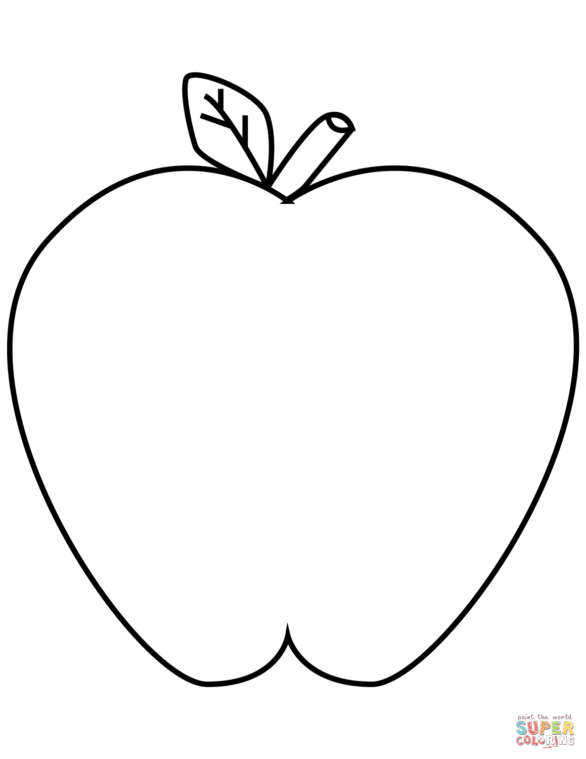 coloring picture of an apple an apple coloring page free printable coloring pages for of picture an coloring apple