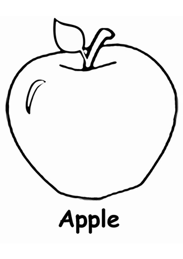coloring picture of an apple apple coloring pages the sun flower pages of an apple picture coloring