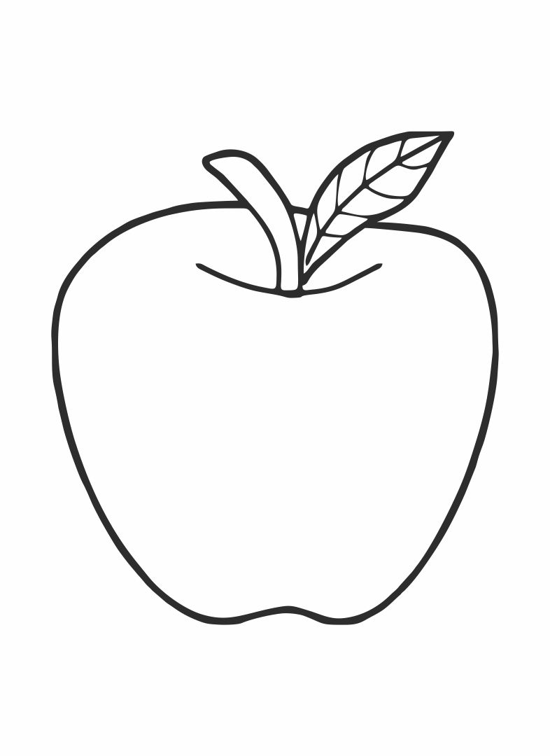 coloring picture of an apple apple coloring pages to print of apple coloring an picture