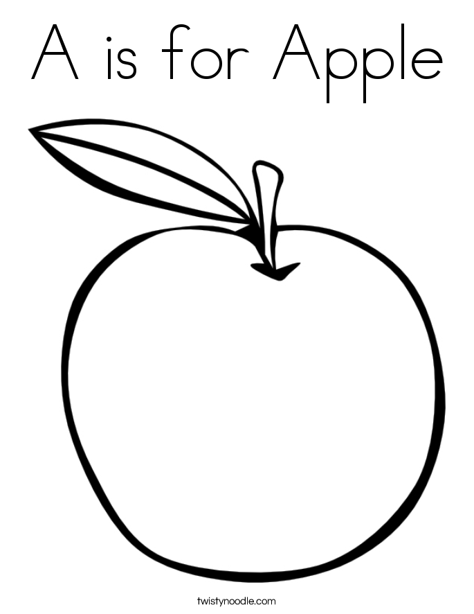 coloring picture of an apple apple outline free download on clipartmag apple of an picture coloring