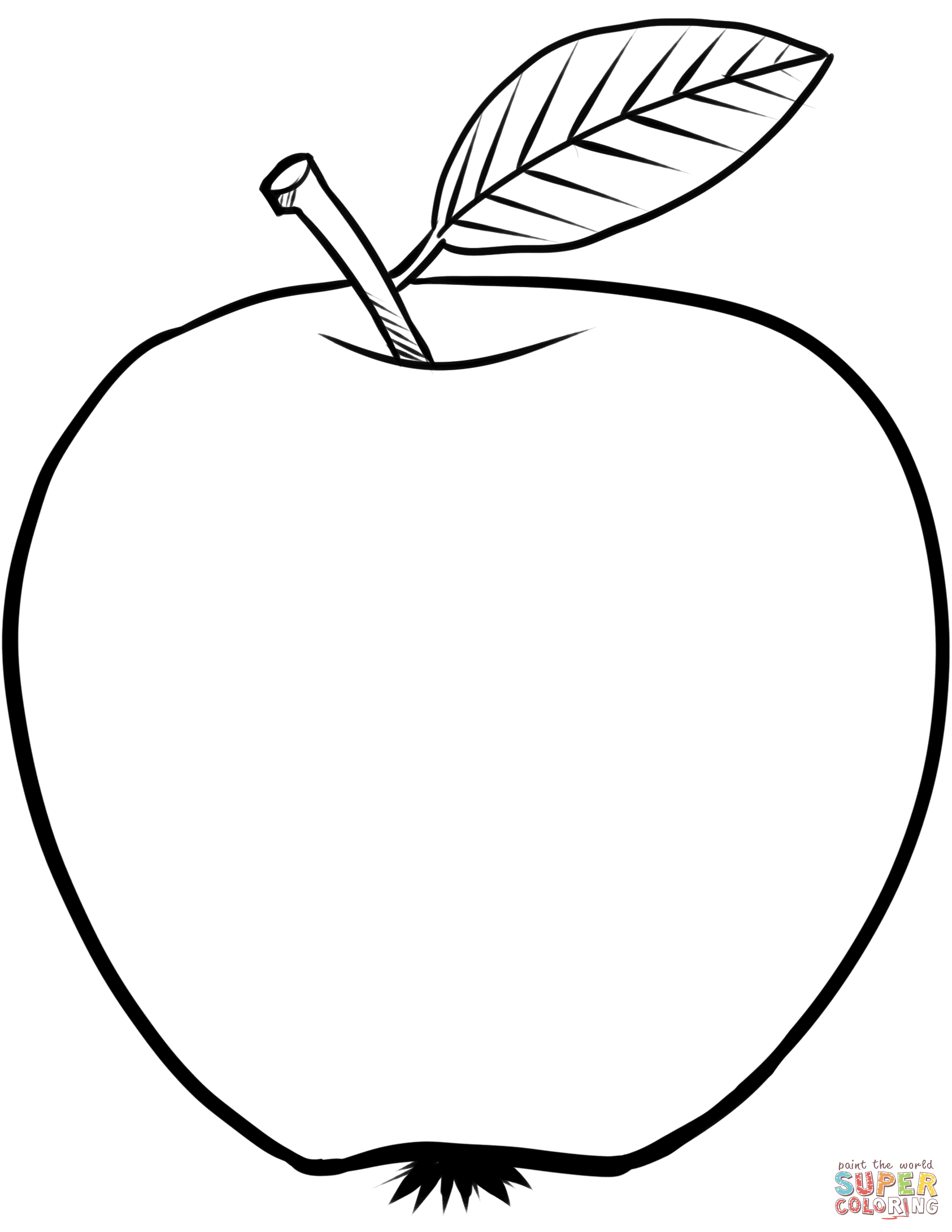 coloring picture of an apple apple printing pages creative children apple an coloring picture of