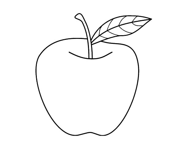 coloring picture of an apple nice apple for apple pie coloring page coloring sky apple coloring an picture of