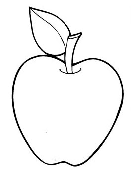 coloring picture of an apple the best apple printable roy blog of picture coloring apple an
