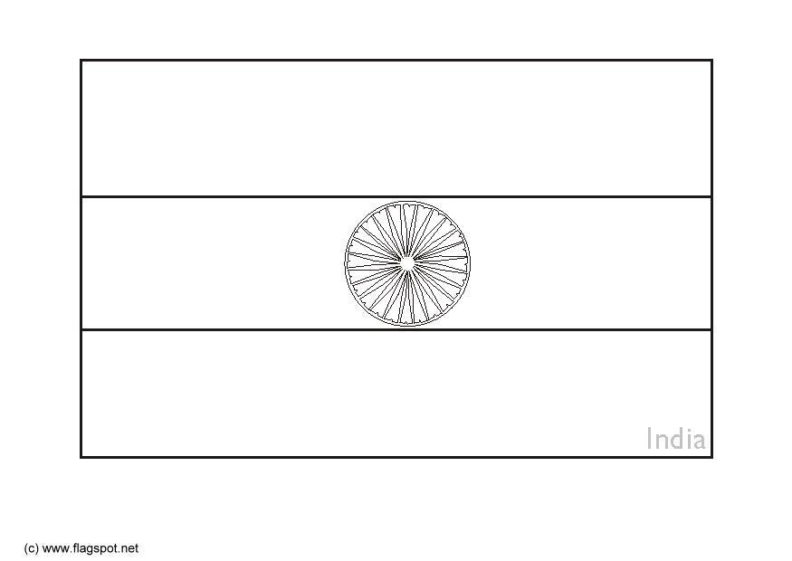 coloring picture of indian flag coloring picture of indian flag flag picture coloring of indian