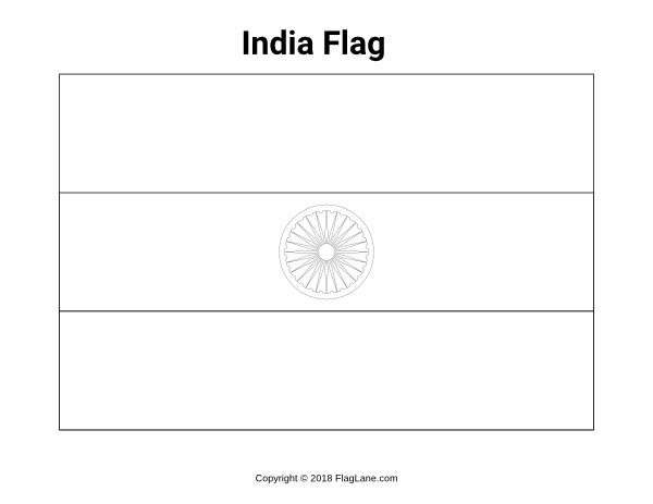 coloring picture of indian flag images to color on indian independence day indian flag picture indian coloring of