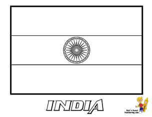 coloring picture of indian flag india flag colouring page flags web of coloring indian flag picture