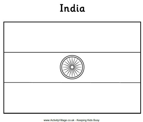coloring picture of indian flag printable india flag coloring page free pdf download at coloring indian flag picture of