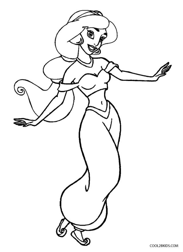 coloring picture of jasmine free printable princess jasmine coloring pages free picture jasmine coloring of