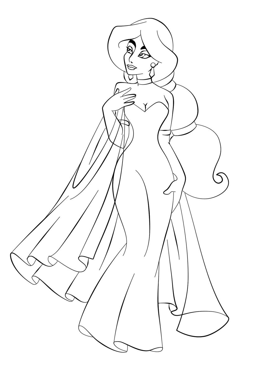 coloring picture of jasmine jasmine coloring pages coloring pages to print jasmine coloring of picture