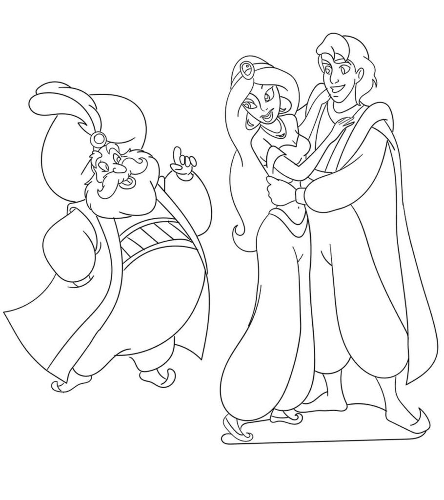 coloring picture of jasmine top 10 free printable princess jasmine coloring pages online of picture jasmine coloring