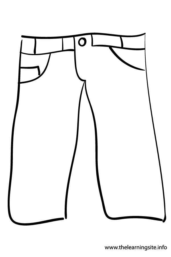 coloring picture of pants pants clipart coloring page pants coloring page of picture pants coloring