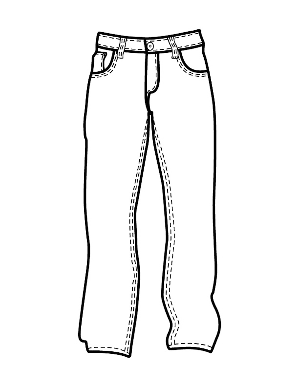 coloring picture of pants pants coloring sheet kerra pants coloring of picture