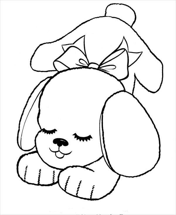 coloring picture of puppy animal coloring pages cool2bkids part 2 coloring puppy picture of