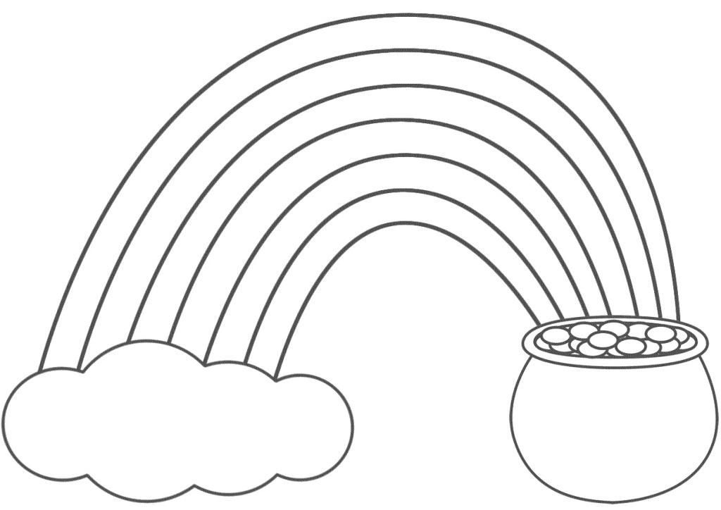 coloring picture of rainbow 14 rainbow coloring page print color craft picture coloring of rainbow
