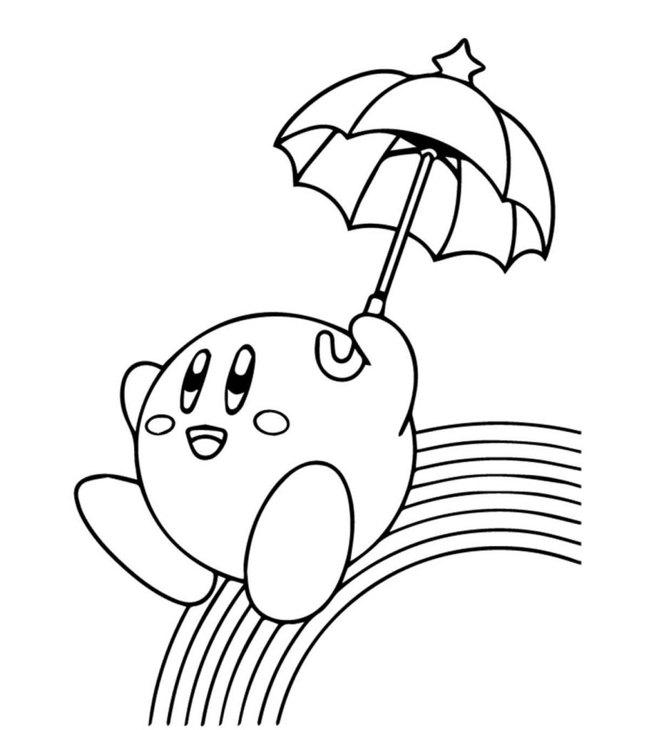 coloring picture of rainbow rainbow cloud characters coloring page stock illustration coloring of rainbow picture