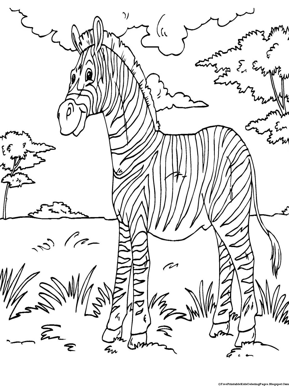 coloring picture printable zebra coloring pages free printable kids coloring pages coloring printable picture