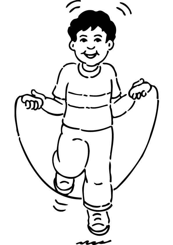coloring picture rope free pictures of jumping rope download free clip art picture coloring rope