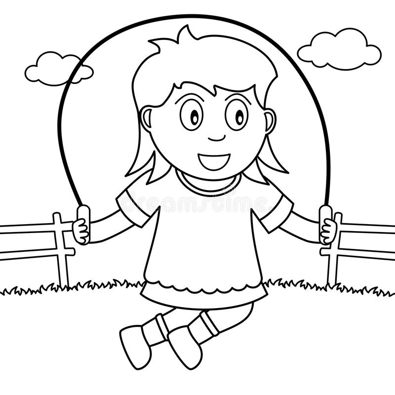 coloring picture rope jump rope coloring page coloring home coloring rope picture