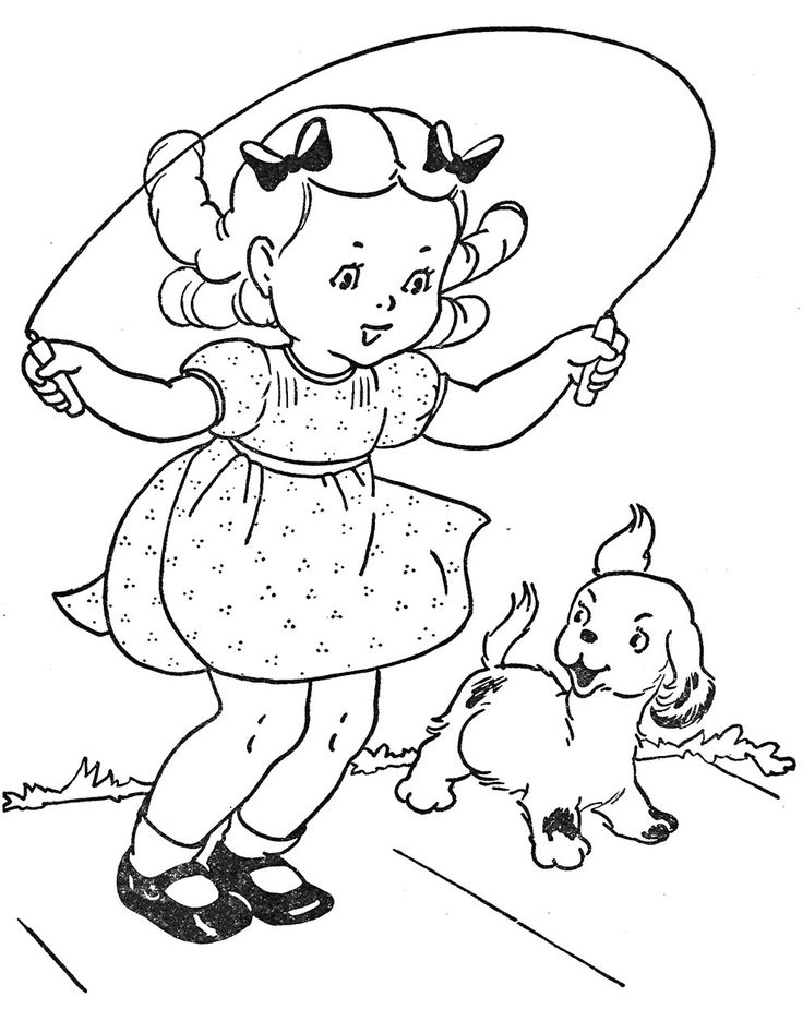 coloring picture rope jump rope coloring pages coloring home rope picture coloring