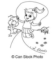 coloring picture rope racab tying red rope coloring page picture coloring rope