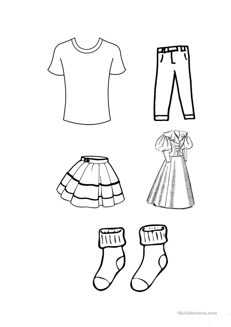 coloring picture shirt Сlothes coloring pages for childrens printable for free shirt picture coloring