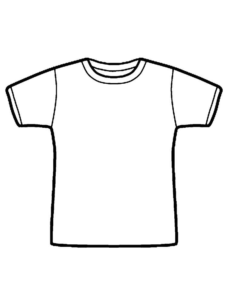 coloring picture shirt coloriage t shirt img 19012 picture coloring shirt