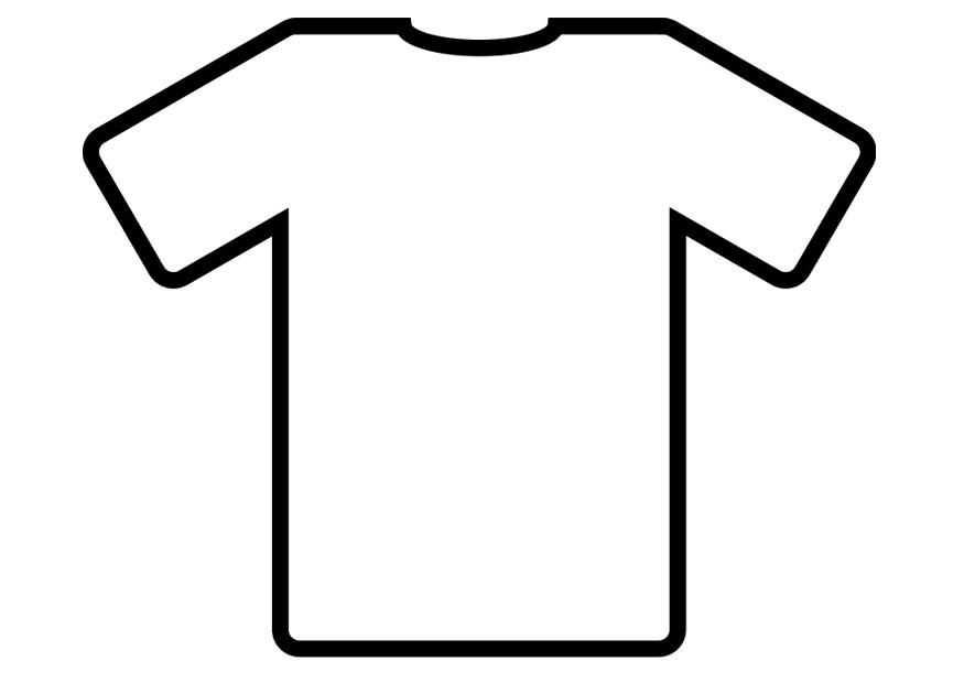 coloring picture shirt shirt coloring clipart clipart kid coloring home picture shirt coloring