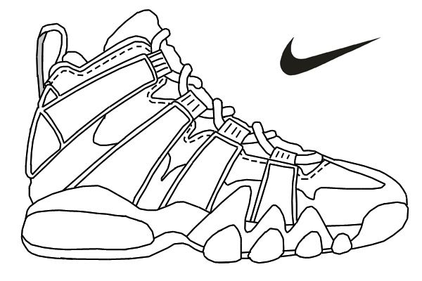 coloring picture shoes nike shoes coloring pages at getcoloringscom free coloring picture shoes